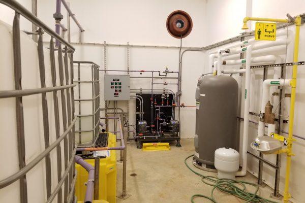 Chemical Feed Room