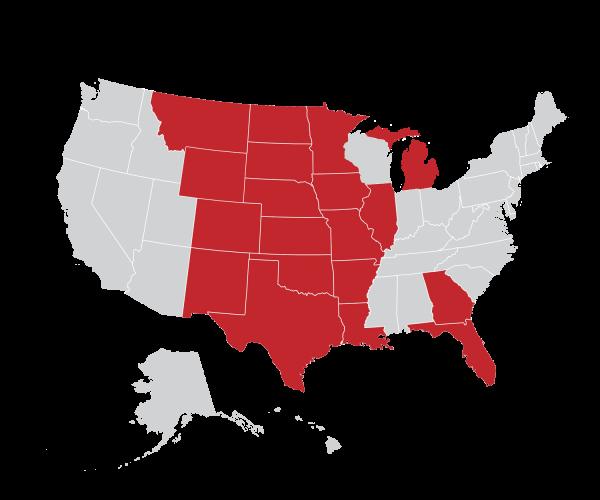 UCI Location MAP